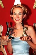 "Winner of the Gold Logie Award 1999. Lisa McCune in ""Blue Heelers"", Seven Network."