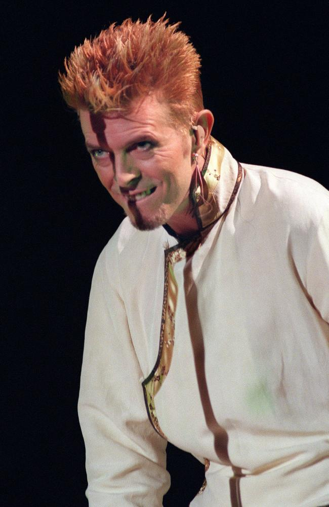 David Bowie performing on June 14, 1997. Picture: AFP / JACK GUEZ