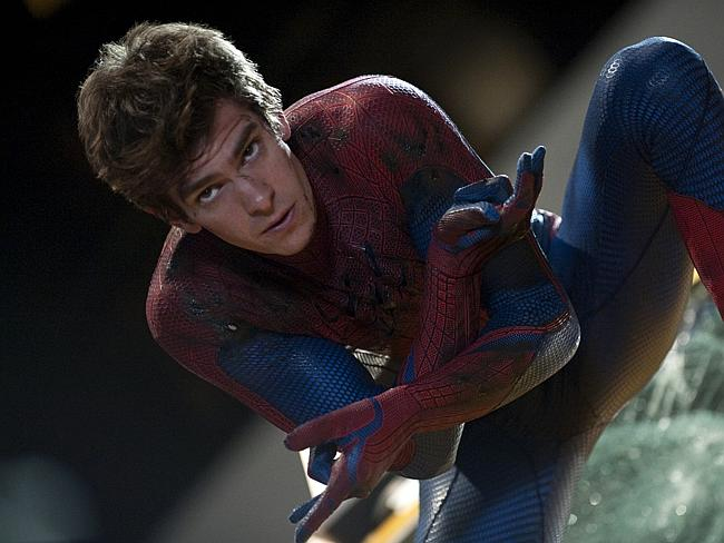 Disneyland ... The Amazing Spider-Man's Andrew Garfield has taken Batkid to Disneyland after their Oscars segment was cut.