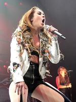 <p>Miley Cyrus performs at Acer Arena, Sydney as part of her Gypsy Heart 2011 Tour. Picture: Adam Ward</p>