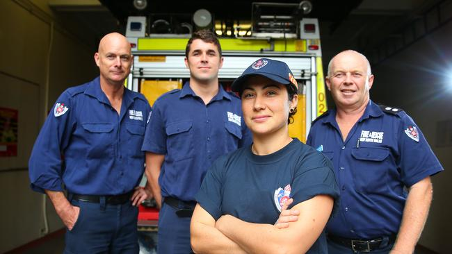 Firefighters from Mosman, NSW.