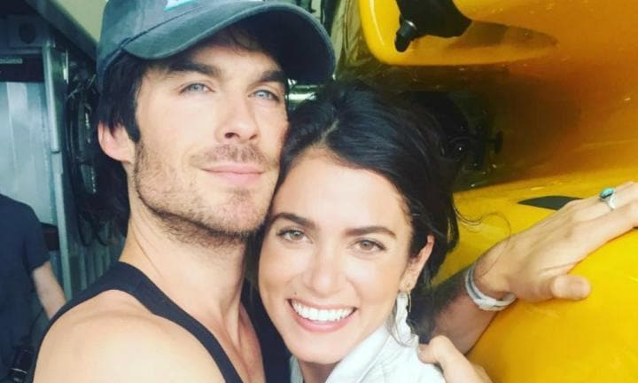 Nikki Reed and Ian Somerhalder apologise for pregnancy comments