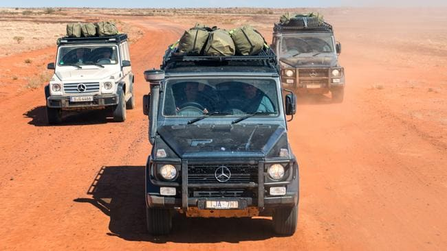 The expedition tackles Australia's red centre. Pic: supplied.