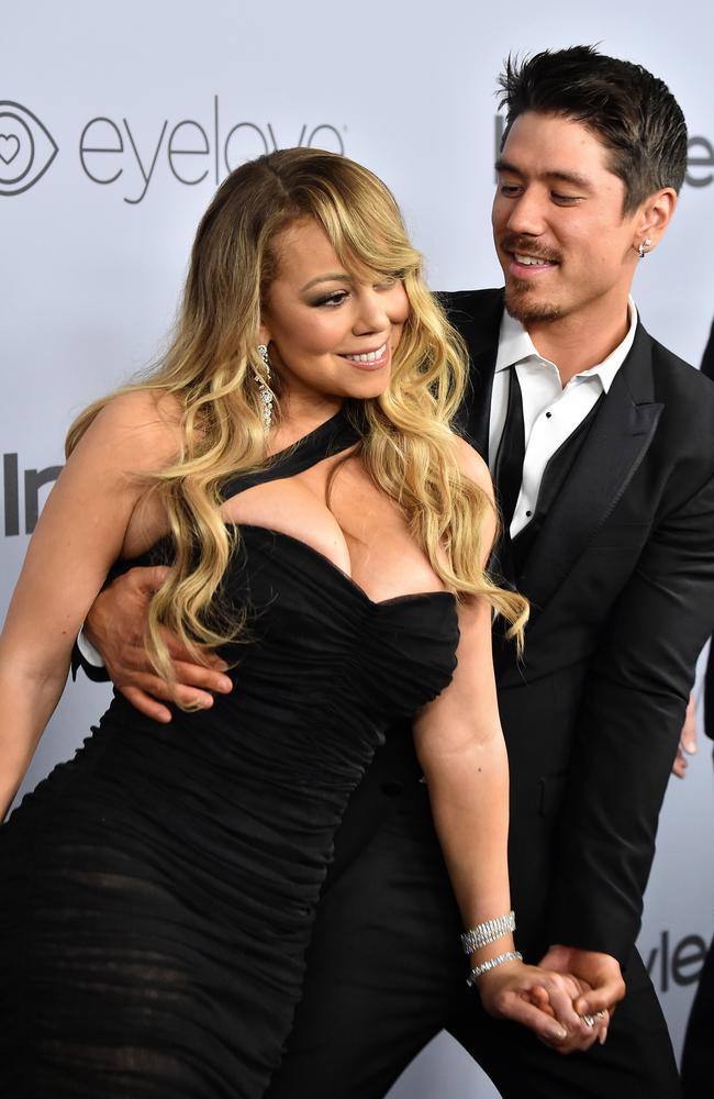 Mariah Carey is currently dating Bryan Tanaka.