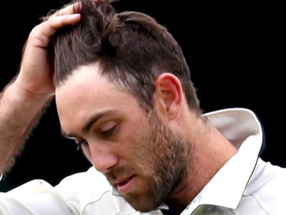 Maxwell fined for controversial spray