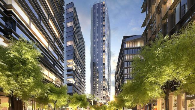 Soaring property prices in areas such as Parramatta have encouraged the release of massive new housing projects such as South Quarter, which will comprise a range of residential skyscrapers.