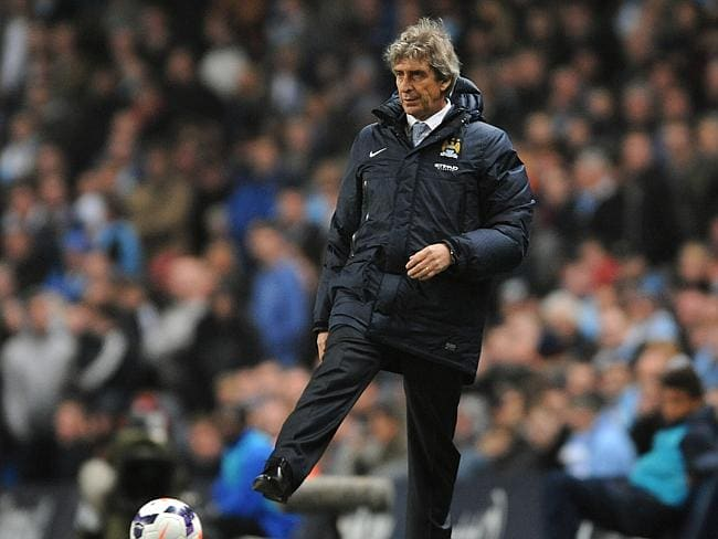 Manchester City manager Manuel Pellegrini is sure his players face a 'very tough game' against Everton. Picture: Rui Vieira