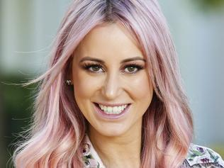 Roxy Jacenko dies hair pink
