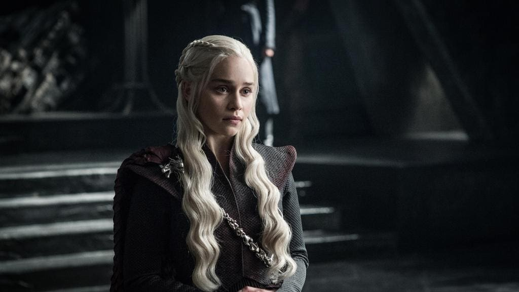 Daenerys Targaryen in Game of Thrones.