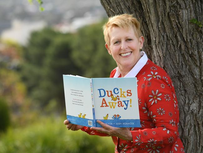 Mem Fox was questioned for two hours over her visa status and later received an apology for her treatment by border guards. Picture: Supplied.