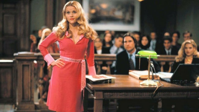 Be the Elle you want to see in the world. Photo: Legally Blonde