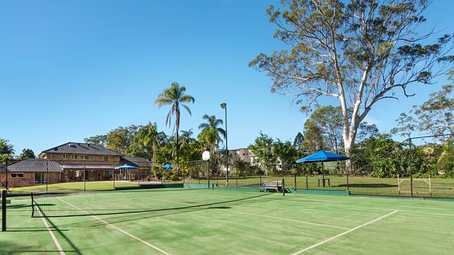 TENNIS anyone? 189 London Rd, Belmont will go to auction on Saturday.