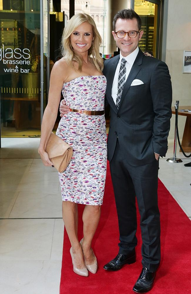 Sonia Kruger and David Campbell.