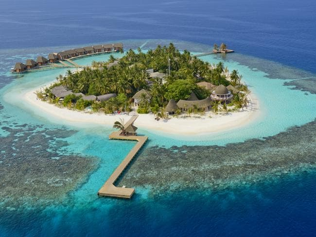 Kandolhu Island, Maldives. Picture: Small Luxury Hotels Maldives