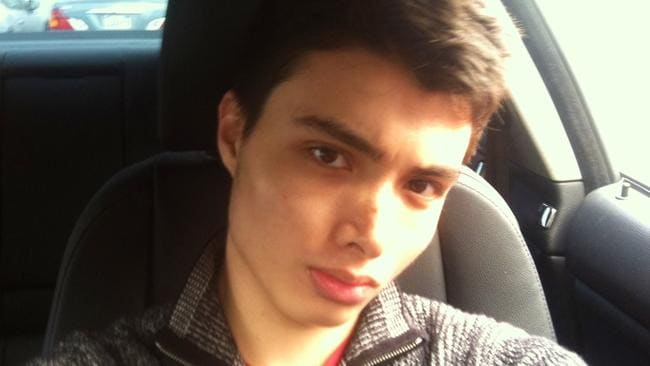 In cold blood ... Elliot Rodger killed six people before taking his own life.