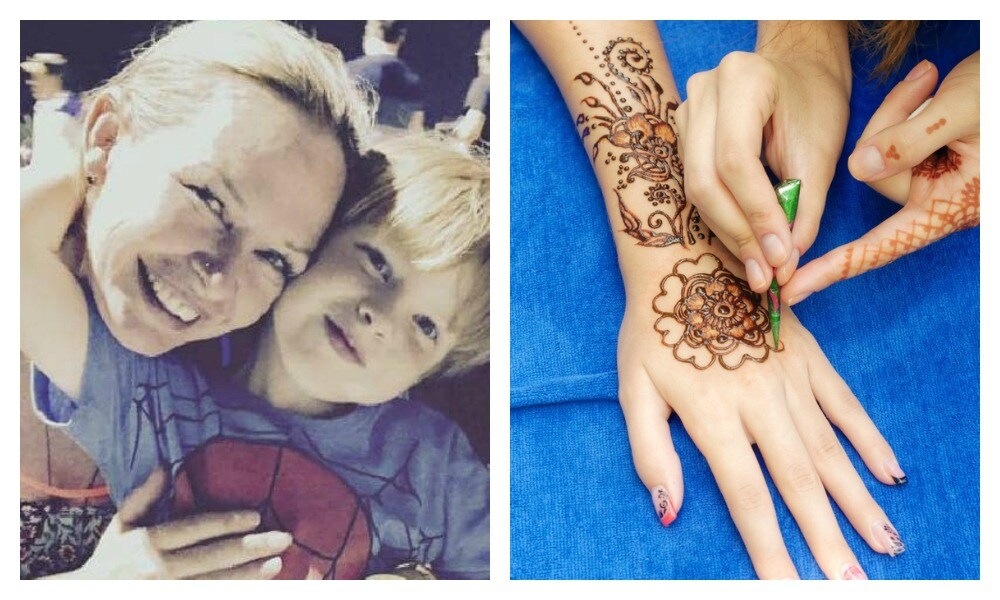 Aussie mum's warning over popular henna tattoos in Bali