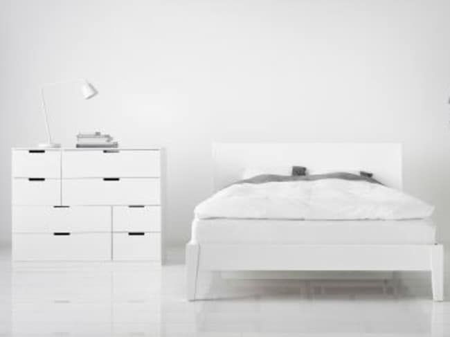 The NORDLI chest of drawers were designed to be customisable. Picture: Ikea Australia.