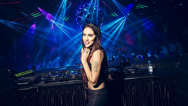 DJ Helena loves the big events. Picture: Shane O'Neal.