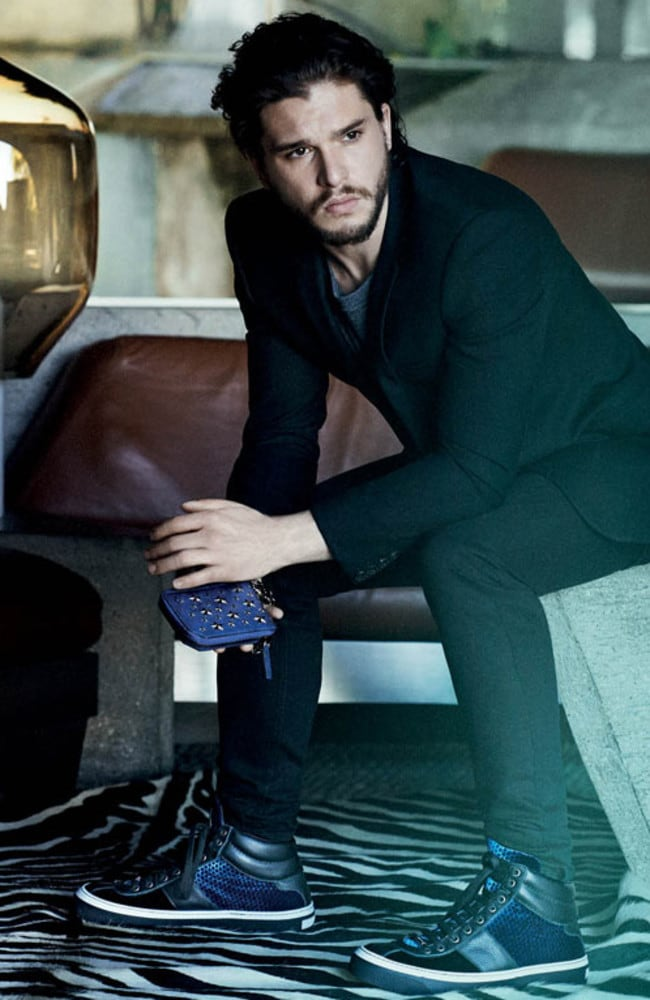 Kit Harington for Jimmy Choo.
