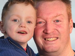 Dad donates kidney to son