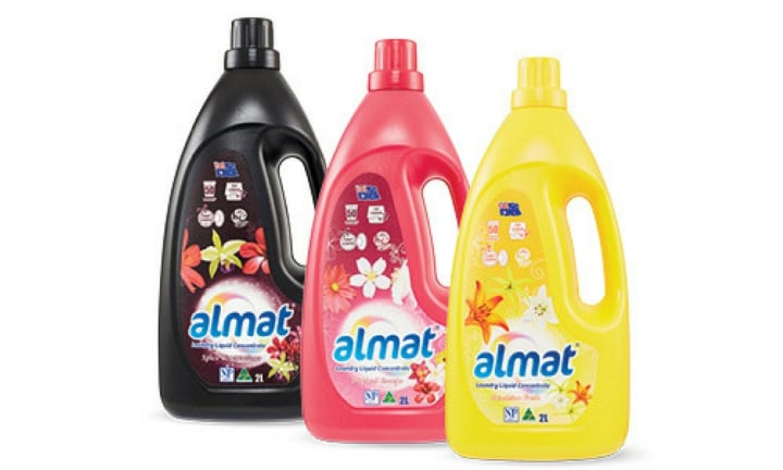 LAUNDRY LIQUID (ALDI) WON IN THE LAUNDRY CATEGORY: Laundry detergent is another staple for every household. The ALMAT Laundry Liquid from ALDI which comes in a 2L bottle was named best and retails for $5.69.