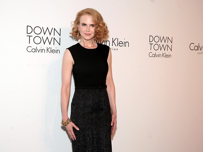 Actress Nicole Kidman arrives at the Calvin Klein post show event at Spring Studios on Thursday, Sept. 12, 2103 in New York. Picture: AP