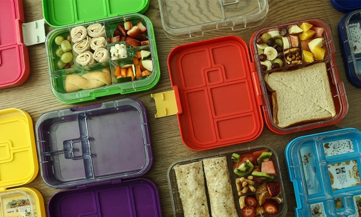 "<p><b>Munchbox – RRP Maxi6 from $44.95</b></p>  <p><b>Pros:</b> The Munchbox is similar to the Yumbox, but it has a deeper capacity so suits older kids or kids with a bigger appetite. The Munchbox Maxi holds a full sandwich – with crusts. If you have a newer Munchbox, you can put whole thing into the top-rack of the dishwasher for easy cleaning. A bonus of the Munchbox 6 is that it will keep both the four-compartment and six-compartments leak-proof, making it the only interchangeable lunch box on the market.</p>  <p><b>Cons:</b> Apart from the earlier lunch boxes being hand wash only, we haven't heard of any cons for this range.</p>  <p>Claire, mum to three, has been using Munchboxes for over a year. She says, ""These lunch boxes are so easy to pack. The kids give them a beating, but they stay leak-proof and we haven't broken one yet.""</p>"