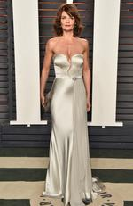 Helena Christensen attends the 2016 Vanity Fair Oscar Party Hosted By Graydon Carter at the Wallis Annenberg Center for the Performing Arts on February 28, 2016 in Beverly Hills, California. (Photo by Pascal Le Segretain/Getty Images)