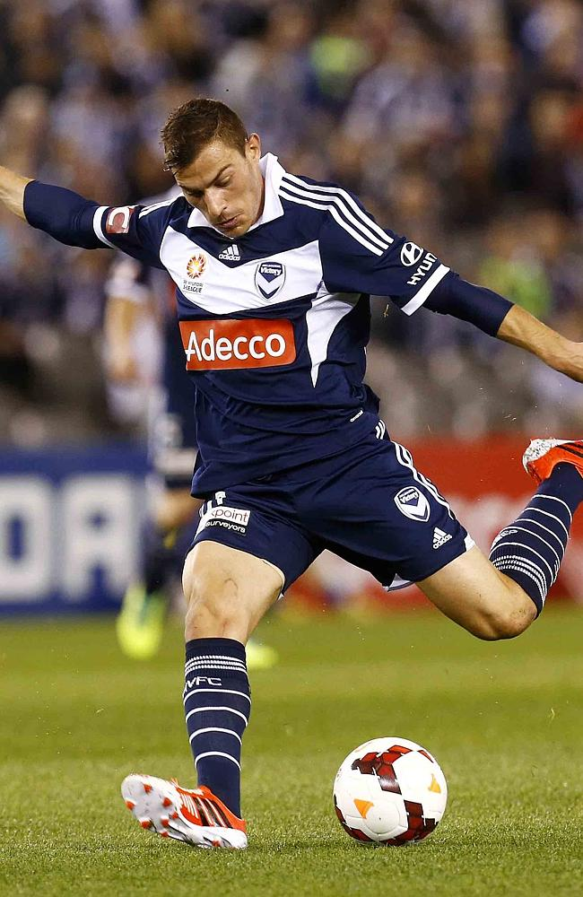James Troisi had a standout season, but could be heading back to Italy. Picture: Michael Klein.