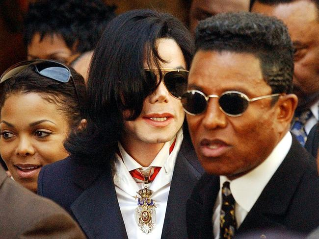 Sibling rivalry ... Michael Jackson and brother Jermaine Jackson were competitive. Picture: Supplied