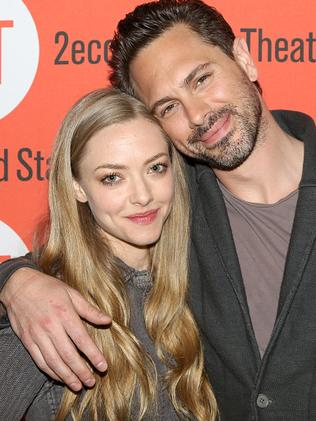 Amanda Seyfried and Thomas Sadoski attend a press call for The Way We Get By in 2015. Picture: Supplied