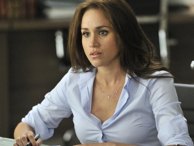 Meghan Markle has recently quit her role in the US TV series Suits. Picture: Ben Mark Holzberg/USA Network)