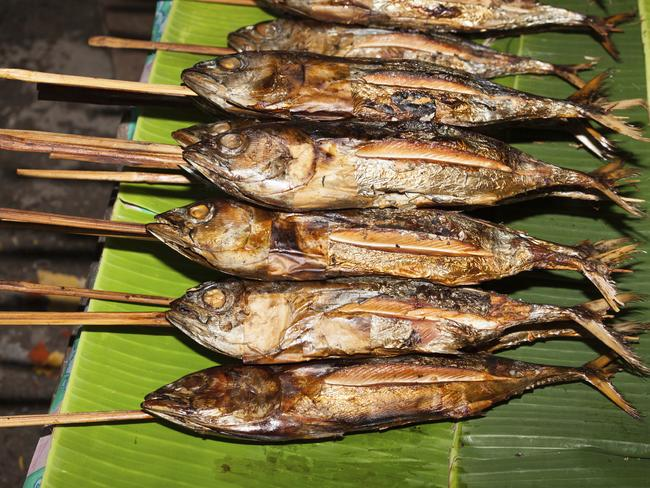You can't beat a meal of freshly grilled fish.