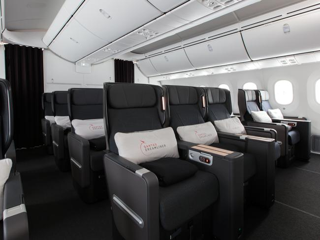 Premium Economy on the Boeing 787 Dreamliner is a game-changer. Picture: Qantas