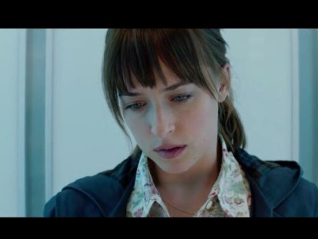 Conflicted...Dakota Johnson stars as naive literature student Anastasia Steele, who is drawn into the enigmatic billionarie's dark secrets. Picture: Supplied