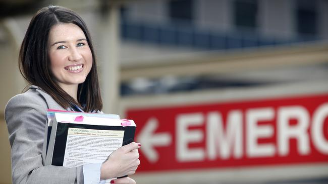 Better system required ... Millicent Wells is a fourth year Adelaide University medical student is off to do a placement in Port Lincoln later this year. Picture: Bianca De Marchi