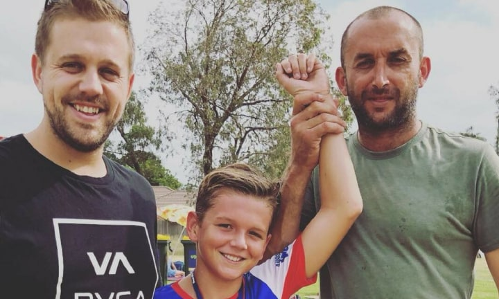 'They are both his dad': Mel Watts shares inspiring co-parenting snap