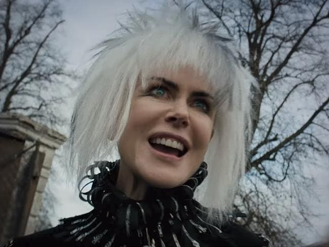 Nicole Kidman as you have never seen her in How To Talk To Girls At Parties. Picture: A24/YouTube