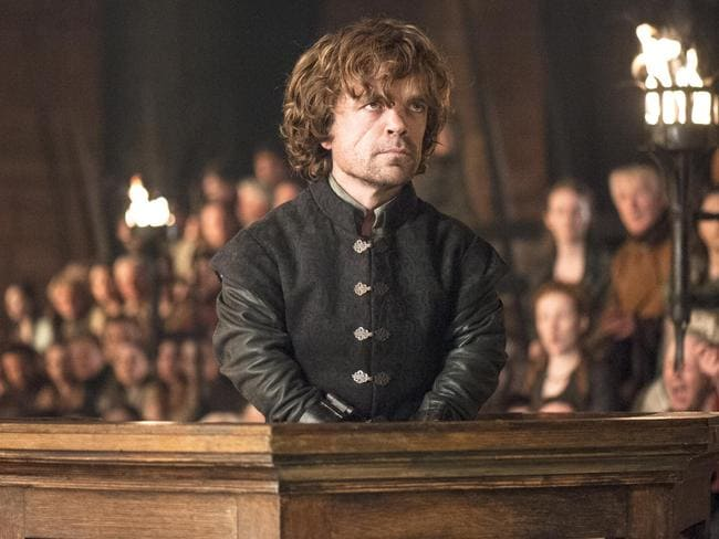 HBO series ... Peter Dinklage as Tyrion Lannister in a scene from Game of Thrones. Picture: AP