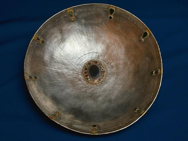Roman style ... an ornamental Roman bowl which is part of the horde found in Rhineland-Palatinate.
