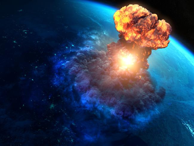 Ouch! What an asteroid might look like if it hits Earth.