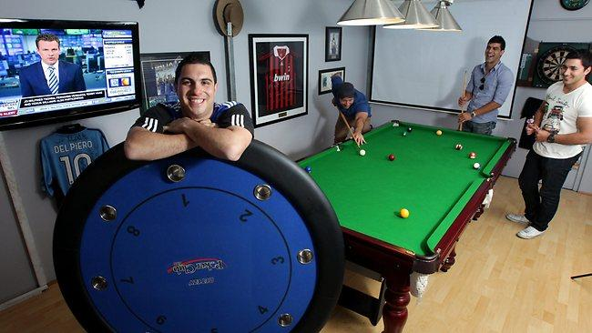 Small Man Cave Pool Table : Which man cave is better one in queensland or some