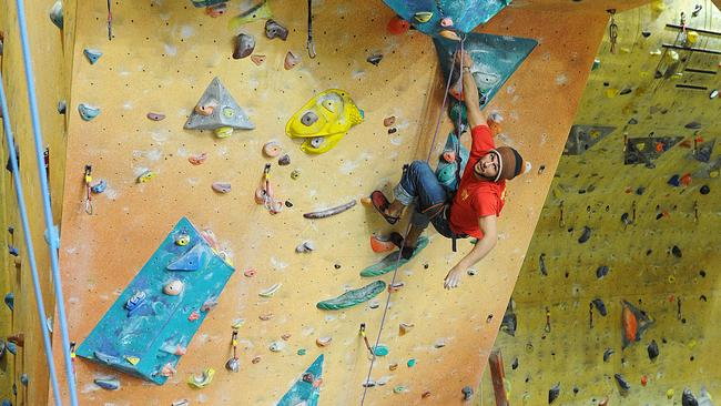 Want to escape Freddy Krueger? Go rock climbing.