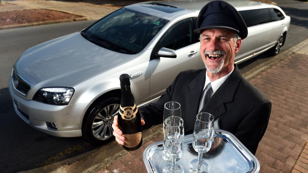 2015 Chauffeur of the Year for SA, David Stokes, a former corporate banker. Picture: Tom Huntley