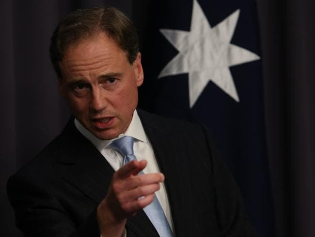 Carbon tax in his sights … Environment Minister Greg Hunt.
