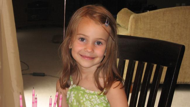 Alison Wyatt, 6, was also killed when a gunman opened fire at Sandy Hook Elementary School. Picture: AP
