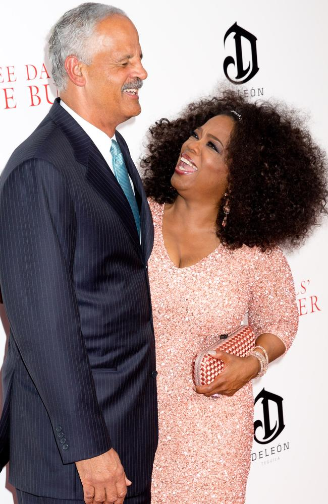 Winfrey has been in a relationship with her partner Stedman Graham for 30 years.