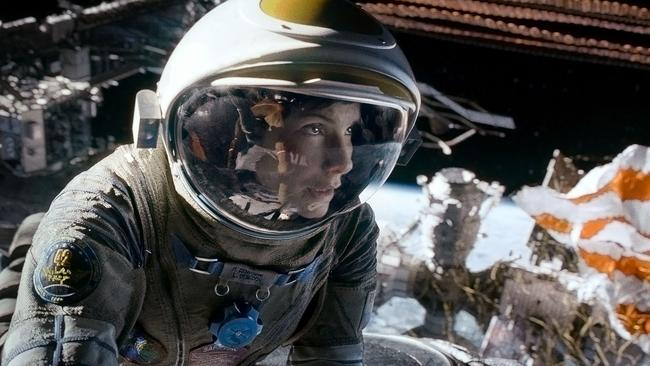 Space junk ... Actress Sandra Bullock brought the issue to life in 2013 movie Gravity. Picture: Warner Bros.
