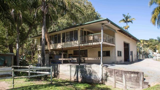 Gold Coast identity Allan Cottrell and his daughter Trudy Leeke who are selling up Tallebudgera's iconic Tally Park agistment centre.