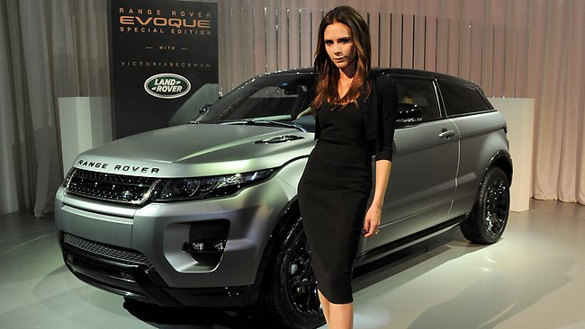 Victoria beckham turns to car design unveiling new range rover coupe daily telegraph - Coupe victoria beckham 2014 ...